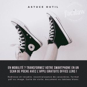 Infographie Facilaw, appli scan en mobilité
