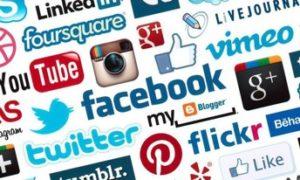 Noms et pictos de réseaux sociaux
