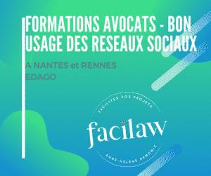 Formation avocats - bon usage des réseaux sociaux