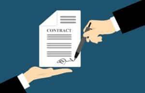signature électronique d'un contrat