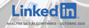 avocats, plus de clients, Analyse des algorithmes de Linkedin