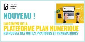 Lancement du plan numérique barreau Paris