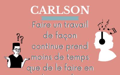 La loi de Carlson